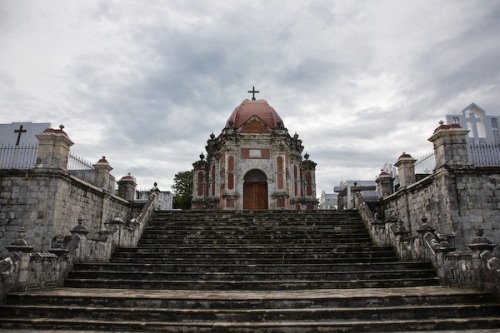 Mausoleum and cemetery at San Jaoquin.