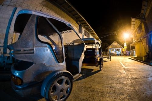 Tricycles, Hama Street, El Nido.